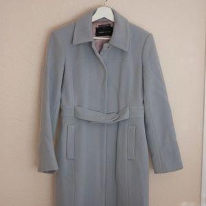 Moda International Light Blue Wool Coat
